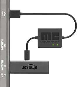 Mission Cables MC9E - Cavo di alimentazione USB per Amazon Fire TV Stick