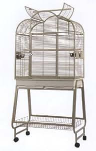 strong vogelk fig tennessee 90 mit st nder anthrazit 89x58x175 cm haustier. Black Bedroom Furniture Sets. Home Design Ideas