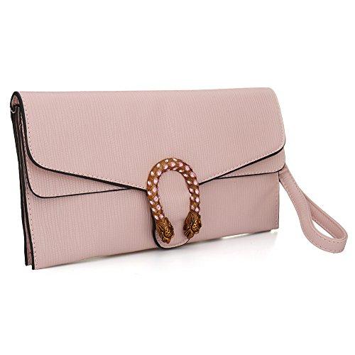 SSMK Evening Bag, Poschette giorno donna Pink