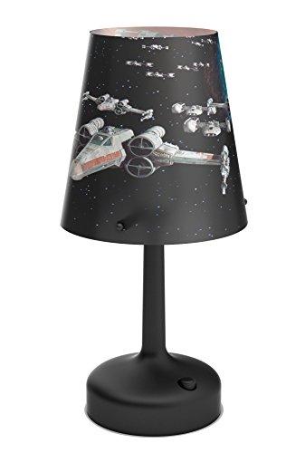 Philips Star Wars Spaceships LED Tischleuchte / Nachttischleuchte Plastik 0.6 W schwarz 718883016