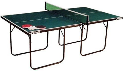 Butterfly Home/school Ping Pong Movable Junior Table (net Set 2 Bats & 3 Balls)
