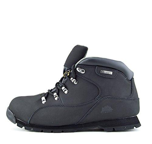 Kick Footwear Herren Komfort Arbeit Sicherheit Stiefel Stahl Zeh Kappe Wasserdicht Grundstein Stiefel - UK 5/38, Schwarz