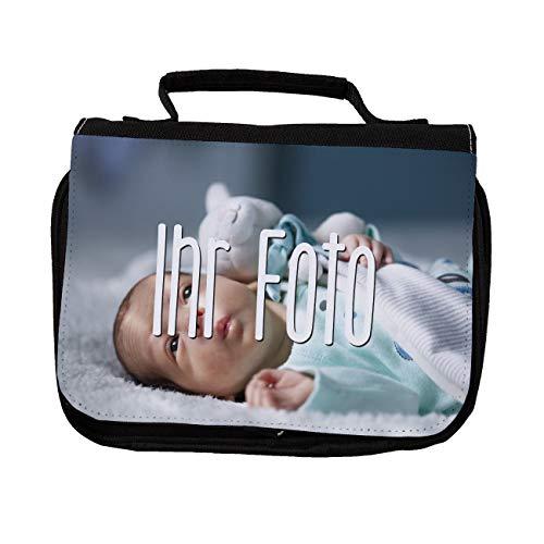 Striefchen® Waschtasche für Kinder mit Foto - bestens für einen Wochenendtrip bei den Großeltern geeignet Foto