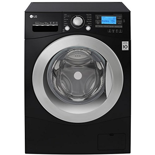 LG FH495BDN8 DirectDrive 12kg 1400rpm Freestanding Washing Machine-Black