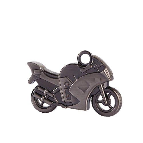 Escoo Hi-Speed USB-Stick 16GB 3D Motorrad motor bike Metall silber