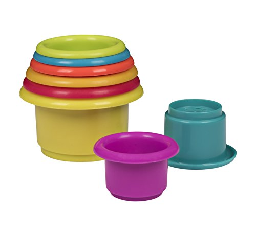 Playkidz Set de construcción infantil Stacking And Nesting Cup (Dress Up  America 3028) 729729466614