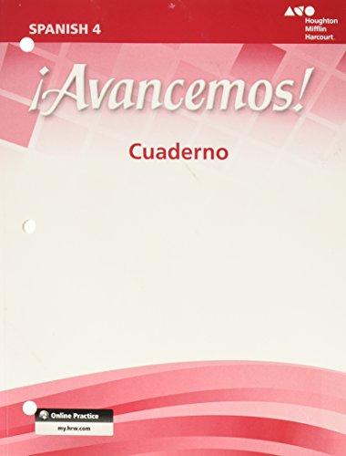 ¡avancemos!: Cuaderno Student Edition Level 4 (Ml Spanish)