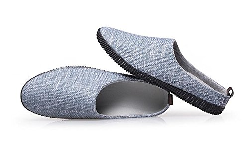 CANRO Chaussons pour homme Bleu