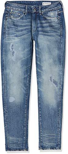 G-STAR RAW Damen 3301 Mid Waist Boyfriend Fit Jeans, Blau (medium Aged Restored 181 9315-8963), 25W / 32L