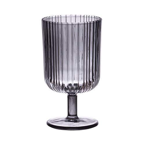 Table Passion - Verre à pied milre gris 28 cl (lot de 6)