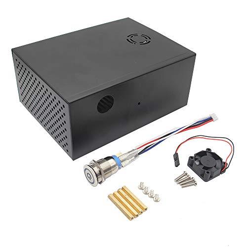 Visión general Esta es la caja de metal con el kit de ventilador de enfriamiento Super MUTE, es muy fácil de instalar y una opción perfecta para el usuario de la placa de almacenamiento HDD X830. Soporte super silencioso ventilador de enfriamiento. ...