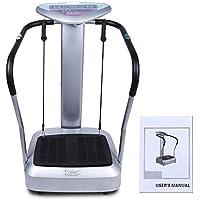 Preisvergleich für Swteeys Vibrationsplatte, Vibration Trainings-Gerät für Bauch Beine Po CRAZY-FIT-MASSAGE - effektiver Vibrationstrainer -Steuerpult mit LED Anzeige
