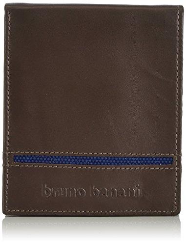 Bruno Banani Scheintasche Querformat W 320.1962 Unisex-Erwachsene Geldbörsen 12x10x2 cm (B x H x T) Blau (taupe/blau)