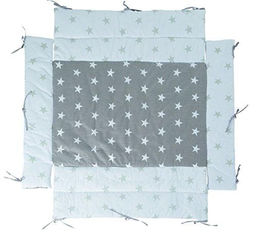 roba Universal Laufgittereinlage \'Little Stars\', Laufstalleinlage für alle Laufgitter 75x100 bis 100x100 cm