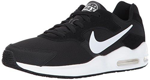 Nike Herren Air Max Guile Sneaker, Schwarz (Black/White), 44 EU (Pflaume-leder-schuhe)