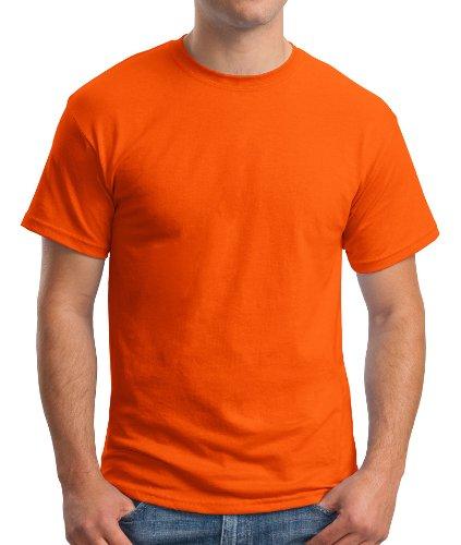 Hanes Comfort Blend Cotton Poly T-Shirt Orange
