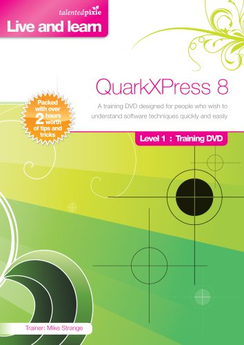 QuarkXPress 8.0 Training DVD - Level 1 (Mac/PC DVD) Test