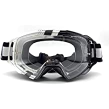 12503da66c79f MT - Gafas Cross Enduro MX-EVO Performance Blanca Negra