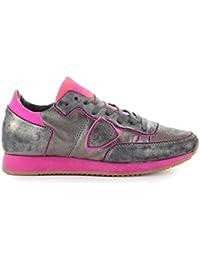 a231d656e3d4 Zapatos de Mujer Zapatilla Tropez Gris Fucsia Philippe Model SS 2019
