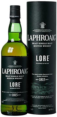 Laphroaig Lore mit Geschenkverpackung (1 x 0.7 l)