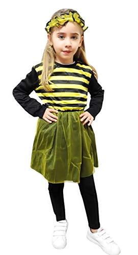 Inception Pro Infinite Größe M - 5 - 6 Jahre - Kostüm - Biene - Mädchen - Verkleidung - Karneval - Halloween - Cosplay