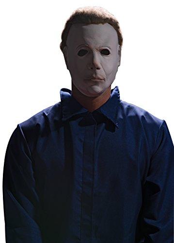 Rubie's Offizielles Michael Myers-Halloweenkostüm, 3/4-Maske mit Haar, für -