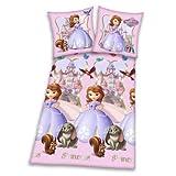 Herding 448018050412 Bettwäsche Sofia die Erste, Kopfkissenbezug 80 x 80 cm und Bettbezug 135 x 200 cm, 100 % Baumwolle, Renforce