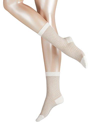 ESPRIT Damen Socken Festive Mehrfarbig (Woolwhite 2060), 35/38