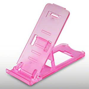 AMAZON KINDLE TOUCH PORTABLE DESK STAND HOLDER BY CELLAPOD CASES HOT PINK