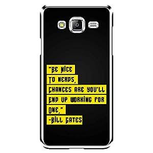 "Bhishoom Designer Printed 2D Transparent Hard Back Case Cover for ""Samsung Galaxy J5"" - Premium Quality Ultra Slim & Tough Protective Mobile Phone Case & Cover"