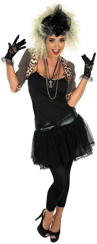 Fun Shack Damen Costume Kostüm Womens 80s Pop Star, ()