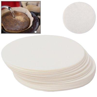 Zuhause Rundes Kaffeefilterpapier, kann Kaffeerückstände mit einem Durchmesser von 60 mm filtern...