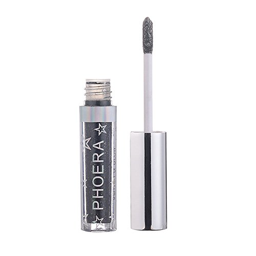 Cenlang Eyeshadow And Eyeliner ,Metallic Eyeliner Shiny Smoky Eyes Beauty Eyeshadow Waterproof Glitter Liquid,Magnificent Metals Glitter And Glow Liquid Eyeshadow Liquid Eyeliner Eye Highlighter -