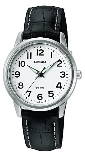 Casio Collection Damen-Armbanduhr LTP 1303PL 7BVEF (Collection Leder Damen)