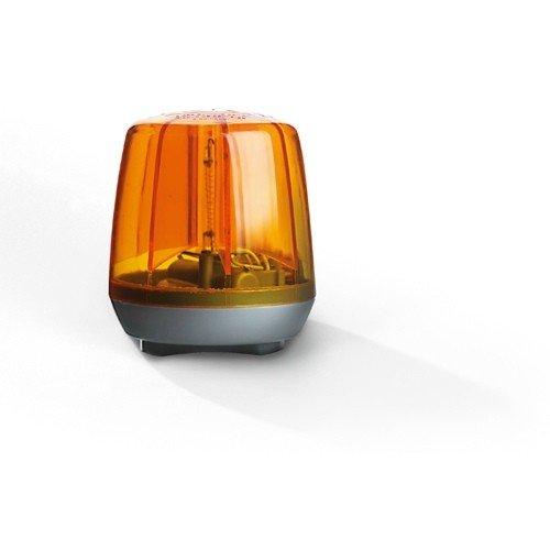 *Rolly Toys 409556 Rundumleuchte Flashlight, Blinklicht mit hoher Helligkeit, LED Technologie, mit Montageplatte (Batterien nicht im Lieferumfang enthalten, Farbe Orange)*