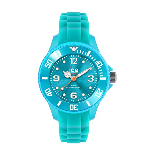 Ice-Watch - Ice Forever Turquoise - Blau Herrenuhr mit Silikonarmband