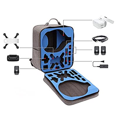 DJI Drone Backpack ,SEWORLD Outdoor Waterproof case Shoulder Backpack Bag For DJI Spark Drone + DJI VR Goggles