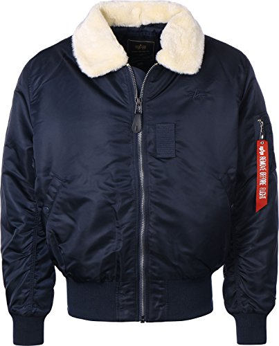 Alpha Industries B 15 Jacke Dunkelblau 3XL
