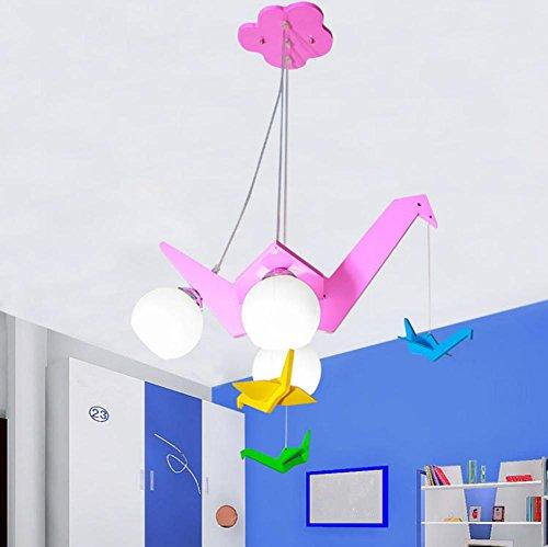 Deckenleuchten Kinder Schlafzimmer stilvoll Cartoon Kunstdruckpapier Krane Kronleuchter size:500*500(mm)