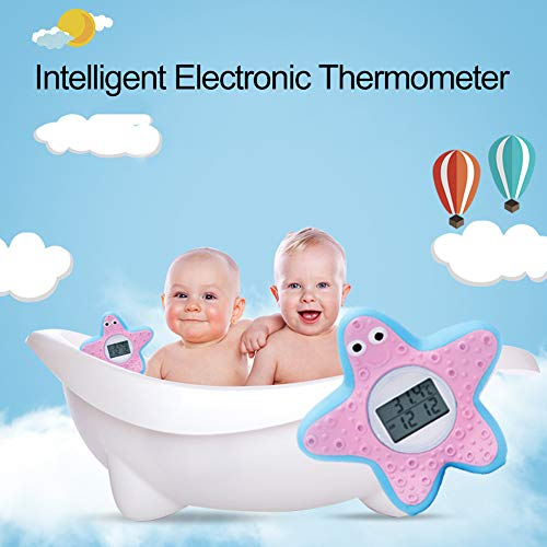 Milnnare Starfish Digitales elektronisches Timing Lichtalarm Wasser Thermometer