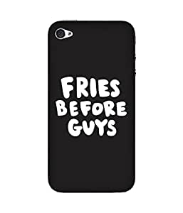 Fried Before Guys Apple iPhone 4/4S Case