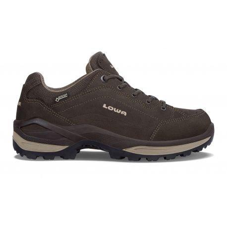Chaussures Renegade GTX® Low Ws - femme Dark Brown / Beige