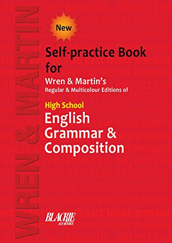 High School English Grammar & Composition (Self Practice Book)  available at amazon for Rs.218