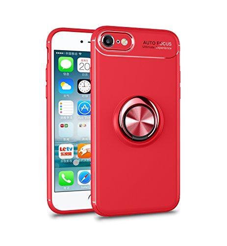 BtDuck iPhone 7 Custodia con Anello iPhone 8 Cover Glitter Cover