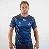 Canterbury Men's Japan 2019 Rugby World Cup Replica Alternative Jersey, Blue/Black, 2XL