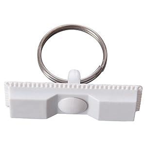 Amscan International CC94299 - Globo magnético de inflado con cierre magnético, color blanco