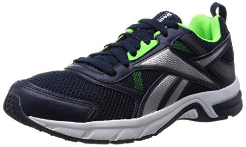 ReebokPheehan Run 4.0 - Scarpe Running uomo, Blu (Blue (Coll Navy/White/Solar Green/Shark/Silver Met)), 41