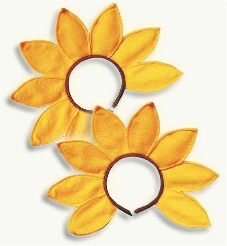 Sonnenblumen Hut (Haarreif Haar Reif Spange)