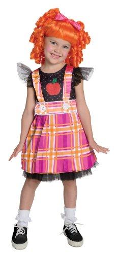 Lalaloopsi Bea Spells a Lot Puppe Girl Mädchen Kinder Fasching Karneval Kostüm Costume 104-116