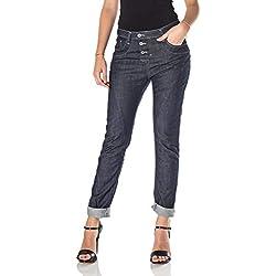 Please–Jeans denim Femme P78A, bleu foncé - Bleu - M